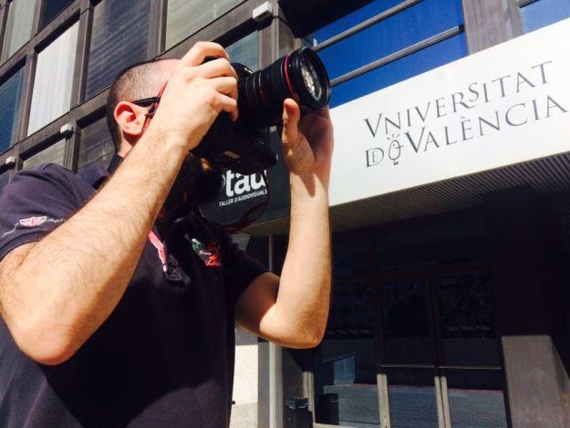 Jordi Olcina. Filmmaker. TAU. Universitat de València.